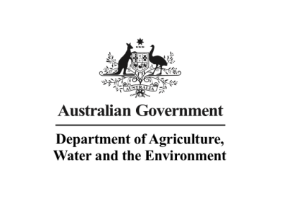 Department of Agriculture, Water and the Environment logo