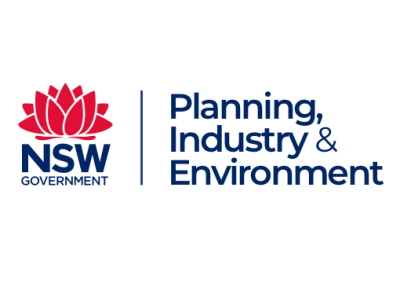 NSW Planning Industry and Environment logo